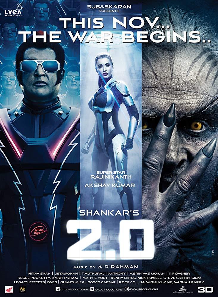 宝莱坞机器人之恋3_[宝莱坞机器人2.0:重生归来][1080P][HD-MKV/3.6G][2019最新印度火爆动作 ...
